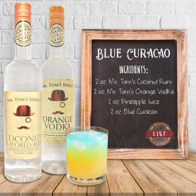 Mr. Tom's Blue Curacao