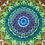 Thumbnail: Psychedelic Kaleidoscope Tapestry