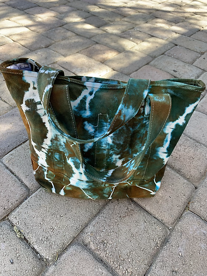 Canvas Bottle Bag