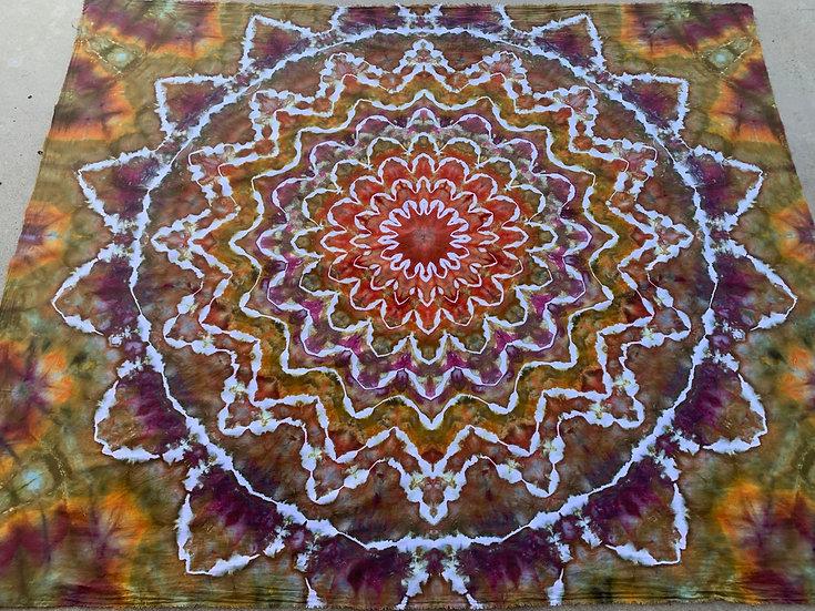 Bigger Psychedelic Kaleidoscope Tapestry
