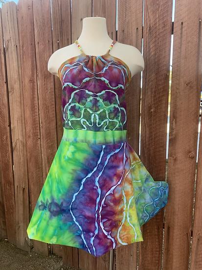 XL Handmade Halter Dress