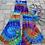 Thumbnail: Small Handmade FLARES & Peace Bikini Set
