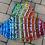 Thumbnail: Size 4T Rainbow Twirl Dress