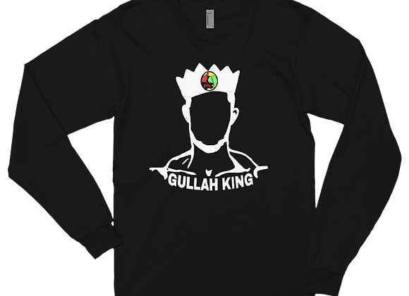 """Gullah King"" Long Sleeve T-Shirt"