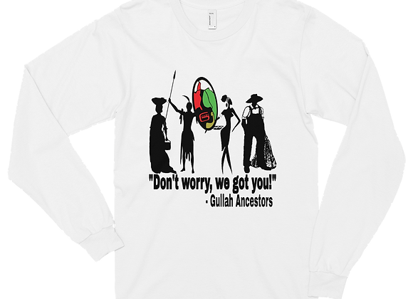 """Gullah Ancestors"" Unisex Long Sleeve T-Shirt"