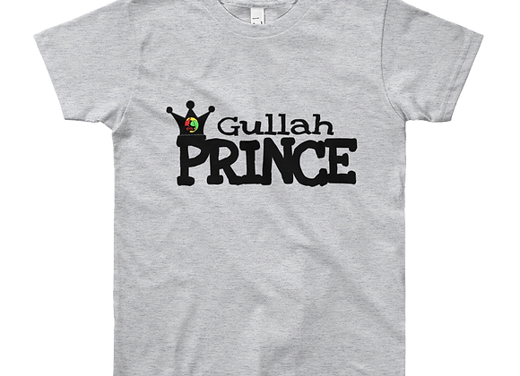 """Gullah Prince"" Boy's Youth Short Sleeve T-Shirt"