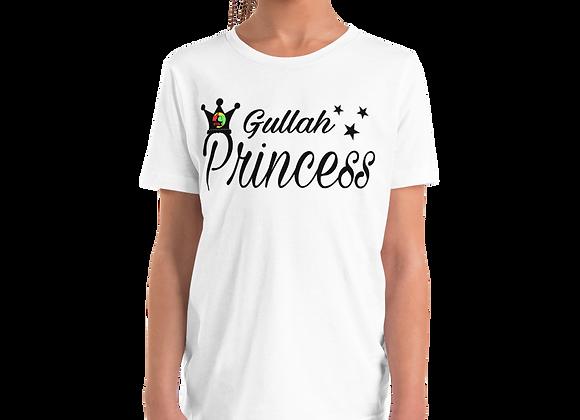 """Gullah Princess"" Girl's Youth Short Sleeve T-Shirt"