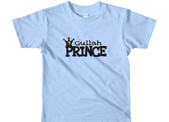 """Gullah Prince"" Short Sleeve Kids T-Shirt"