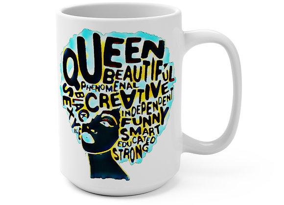 """Black Queen"" Mug 15oz"