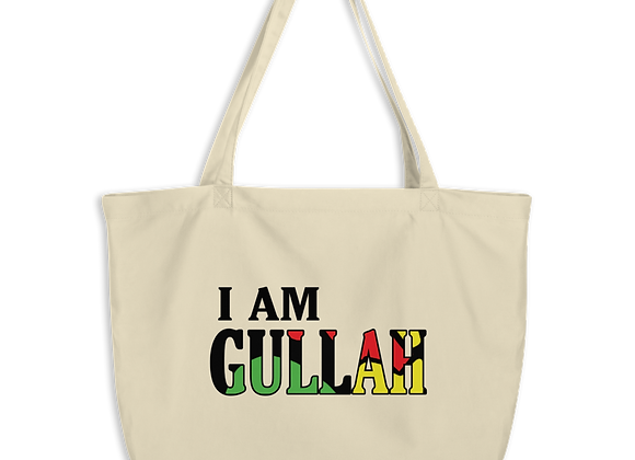 """I Am Gullah"" Large Organic Tote Bag"