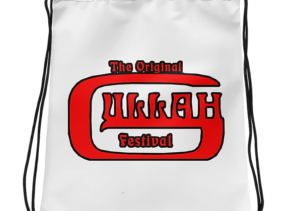 The Original Gullah Festival Drawstring bag