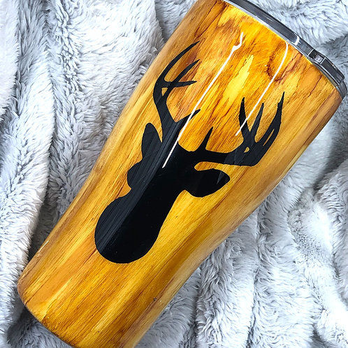 RTS Deer head 30oz curve tumbler
