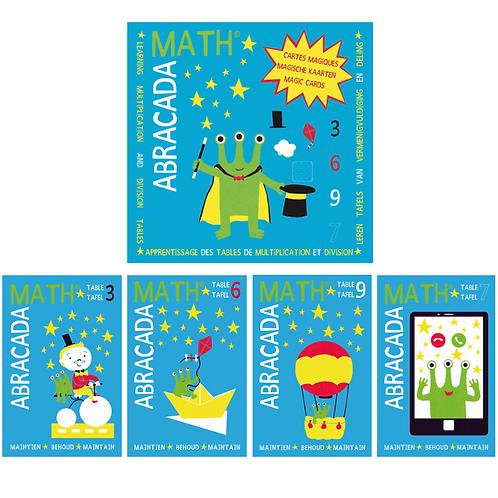 Pack tables de multiplication : 3, 6, 9 et 7