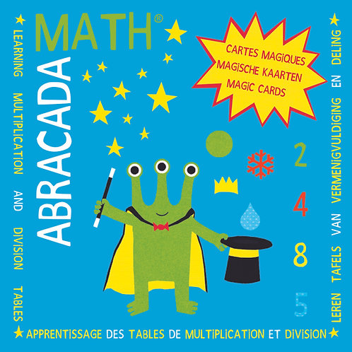 Apprentissage Tables de multiplication et division : 2, 4, 8, 5