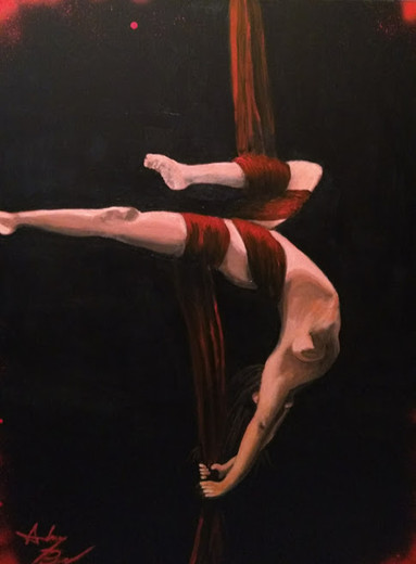 Aerial Silk, No. 1