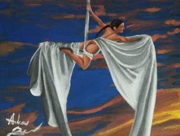 Aerial Silk, No. 2