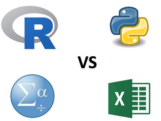 Die beste Statistiksoftware für empirische Arbeiten:  R vs. SPSS vs. Python vs. Excel