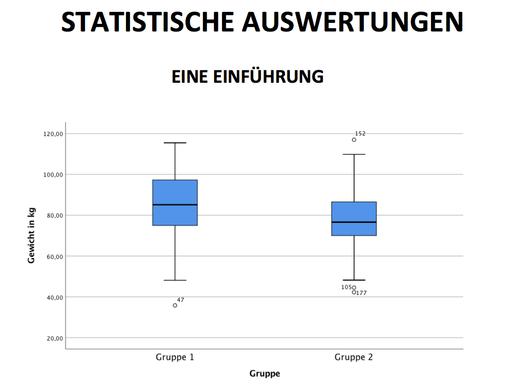 Statistische Auswertungen - Ein Leitfaden für Anfänger