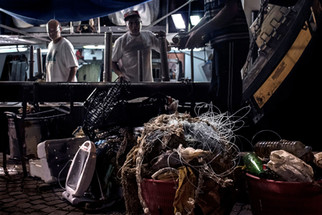 Fishing for plastic