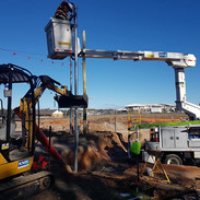 New Power Pole install