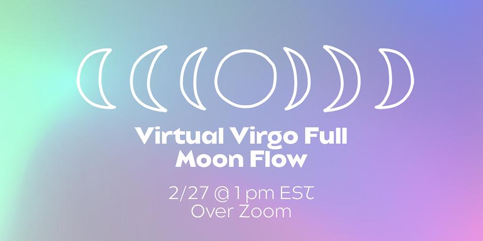Virtual Virgo Full Moon Flow