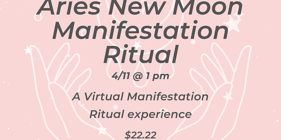 Virtual Aries New Moon Manifestation Ritual (1)