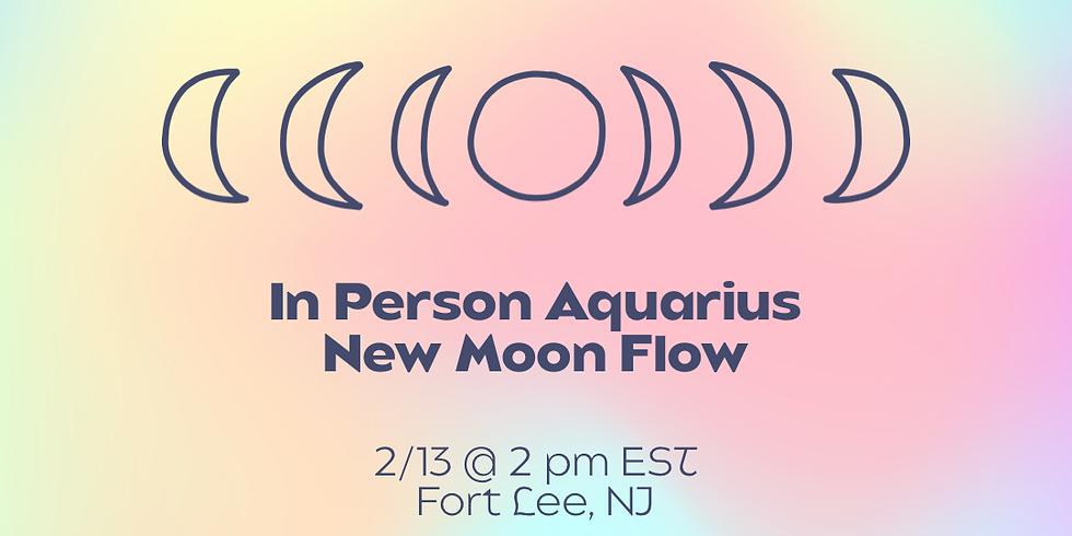 In Person Aquarius New Moon Flow