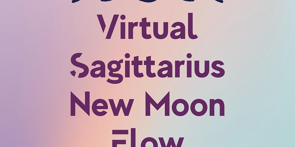 Virtual Sagittarius New Moon Flow