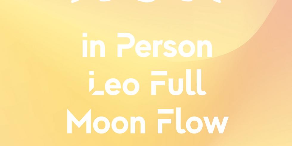 In Person Leo Full Moon Flow