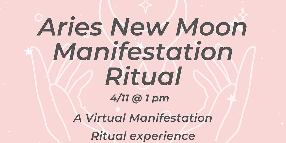 Virtual Aries New Moon Manifestation Ritual