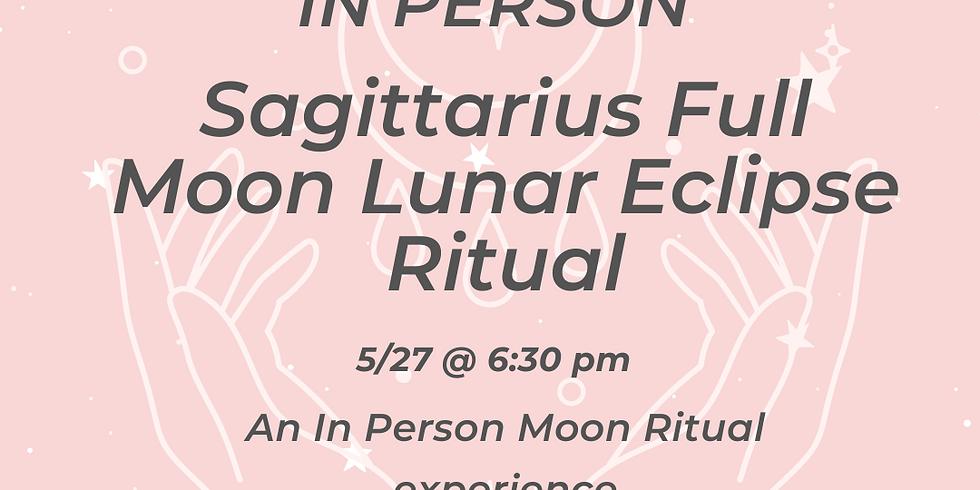 In Person Sagittarius Full Moon Ritual