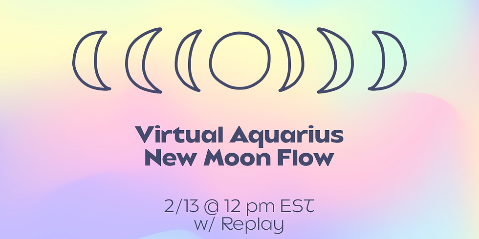 Virtual Aquarius Full Moon Flow