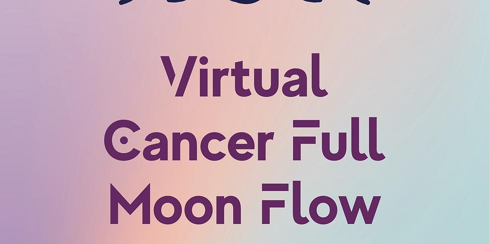 Virtual Cancer Full Moon Flow