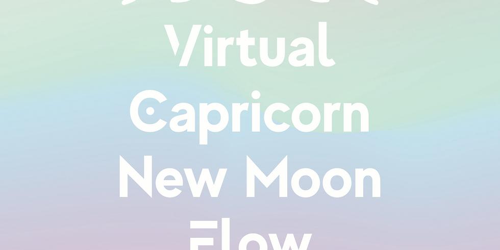 Virtual Capricorn New Moon Flow