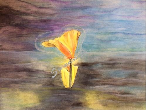 ORIGINAL - 'Angel Flower' 2018