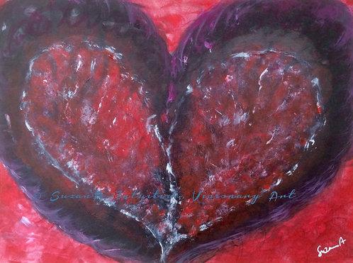 ORIGINAL - 'Purple heart' - 2016