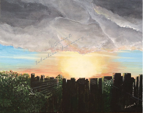 LIMITED EDITION Print - 'After the storm' - 2017