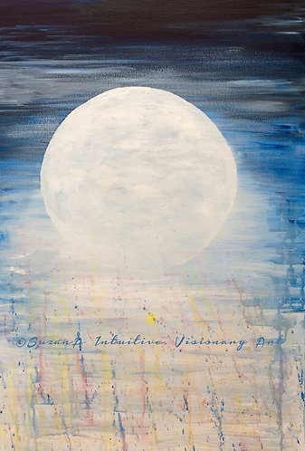 PRINT - 'Luna Shower' - 2017