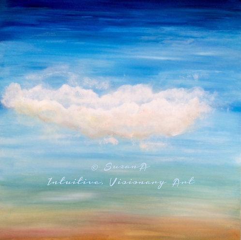 PRINT - 'Cloud No.9' - 2016