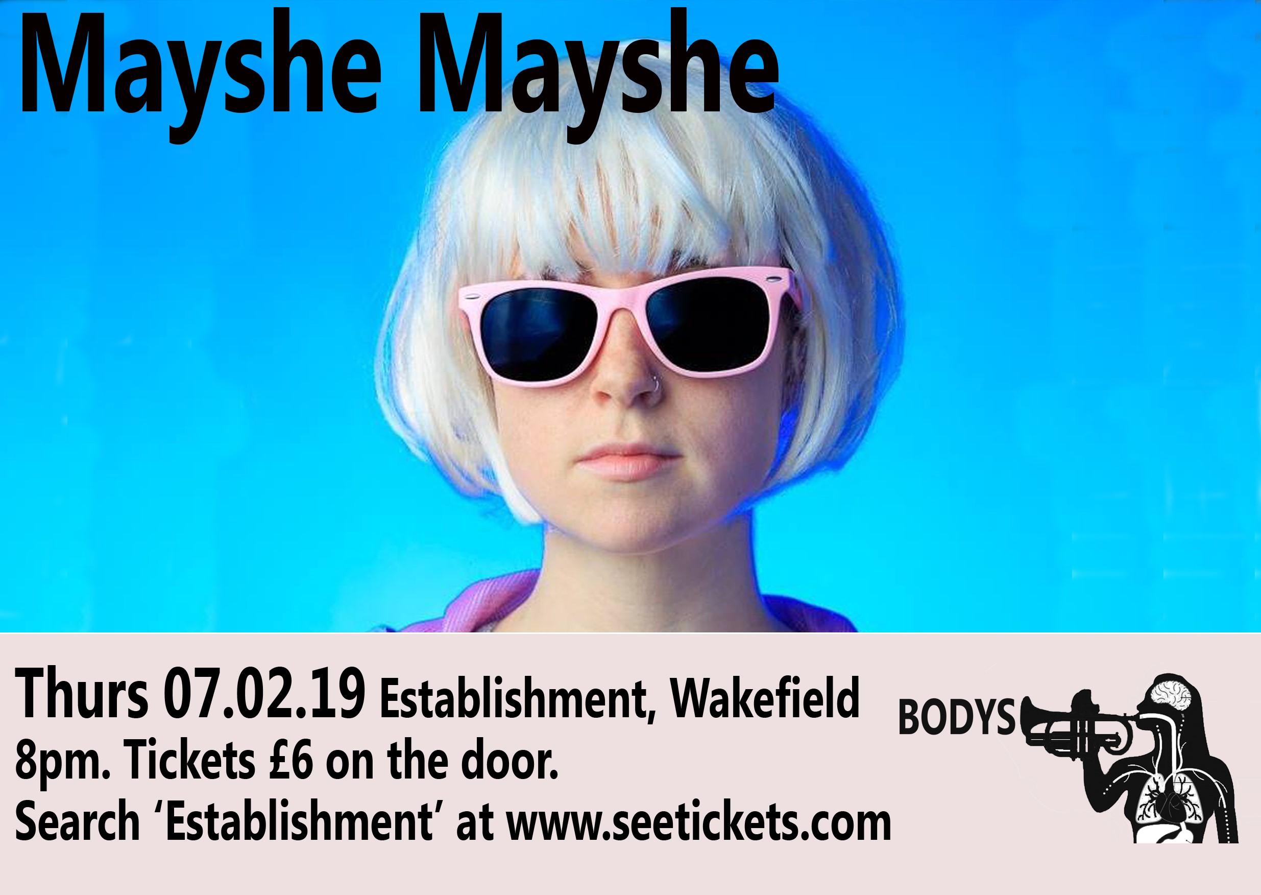 Mayshe Maysh Flyer