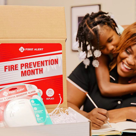 It's Fire Prevention Month!
