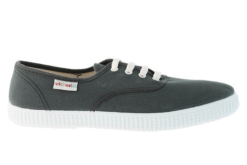VICTORIA WOMAN CANVAS PLIMSOLLS GREY