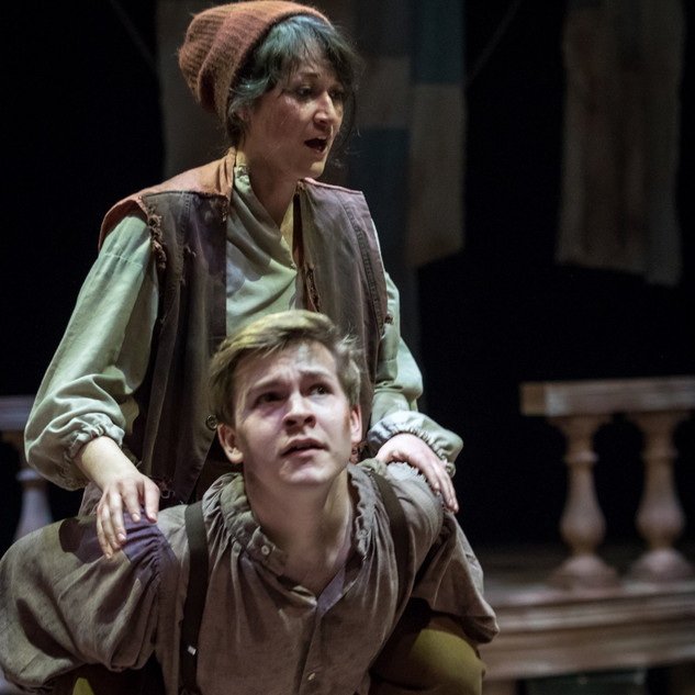 """Ted in """"Peter and the Starcatcher"""""""