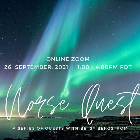 Norse Quest with Betsy Bergstrom