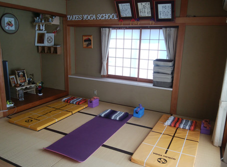 TAKE'S YOGA SCHOOL 新規オープン!!