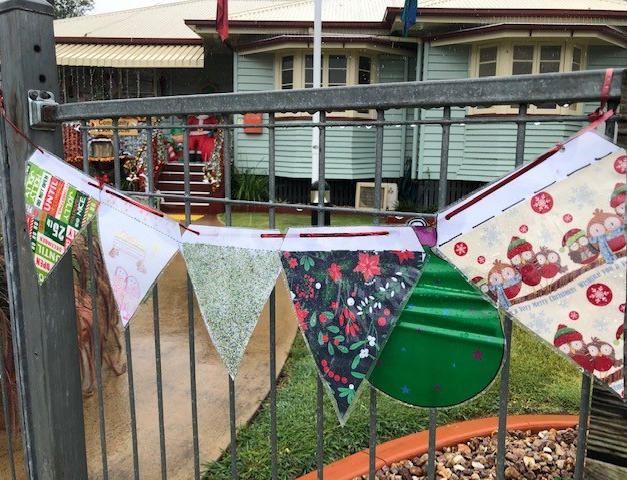 Christmas Bunting Entry