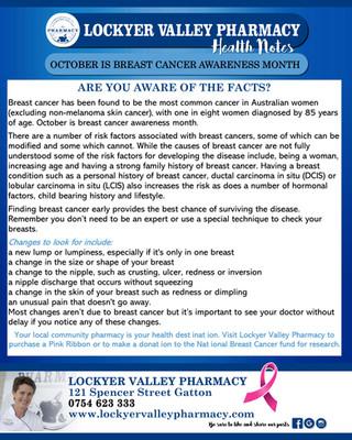 lockyer-valley-pharmacy-breat-cancer-awa