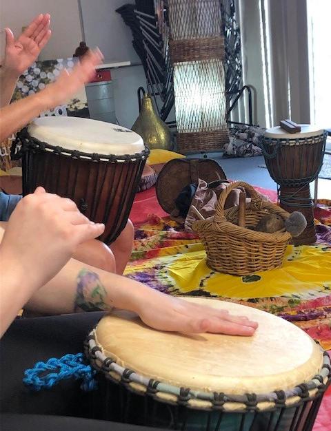 Wellbeing Drumming Workshop