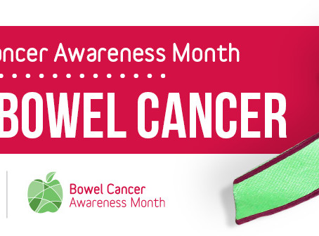 June is Bowel cancer awareness month