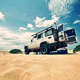 Sand Dunes - Fraser Qld